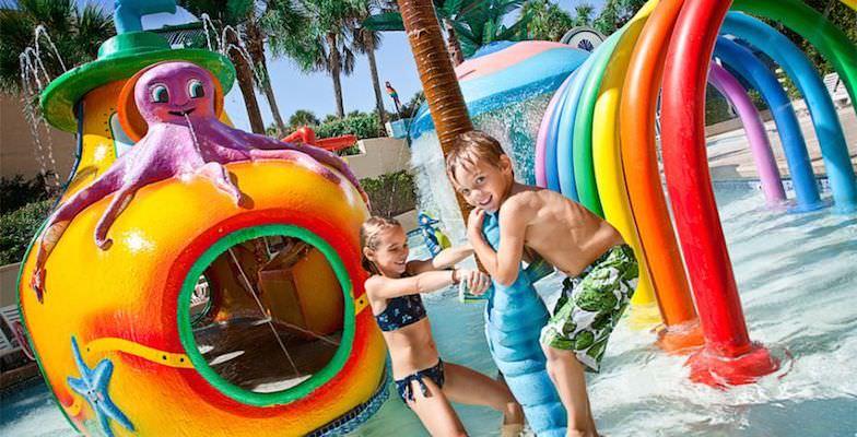 Myrtle Beach hotel pools: Coral Beach Resort