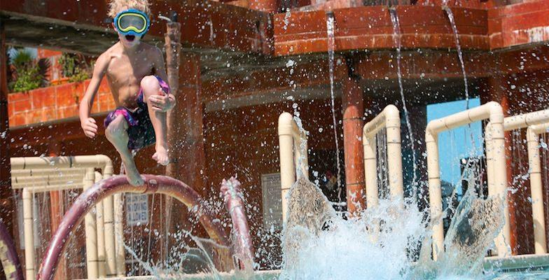Myrtle Beach hotel pools: Landmark Resort