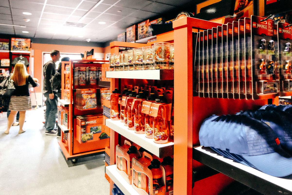 NINJAGO merchandise at Wu's Warehouse