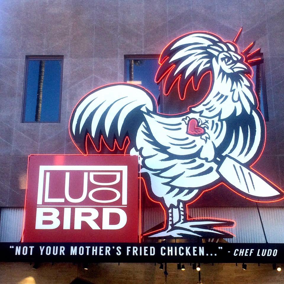 LudoBird at Universal Studios Hollywood
