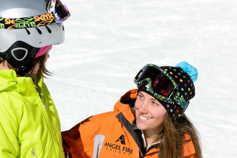 Ski school at Angel Fire Resort