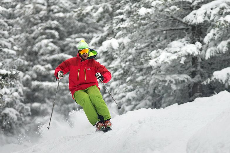 Skier at Ski Santa Fe