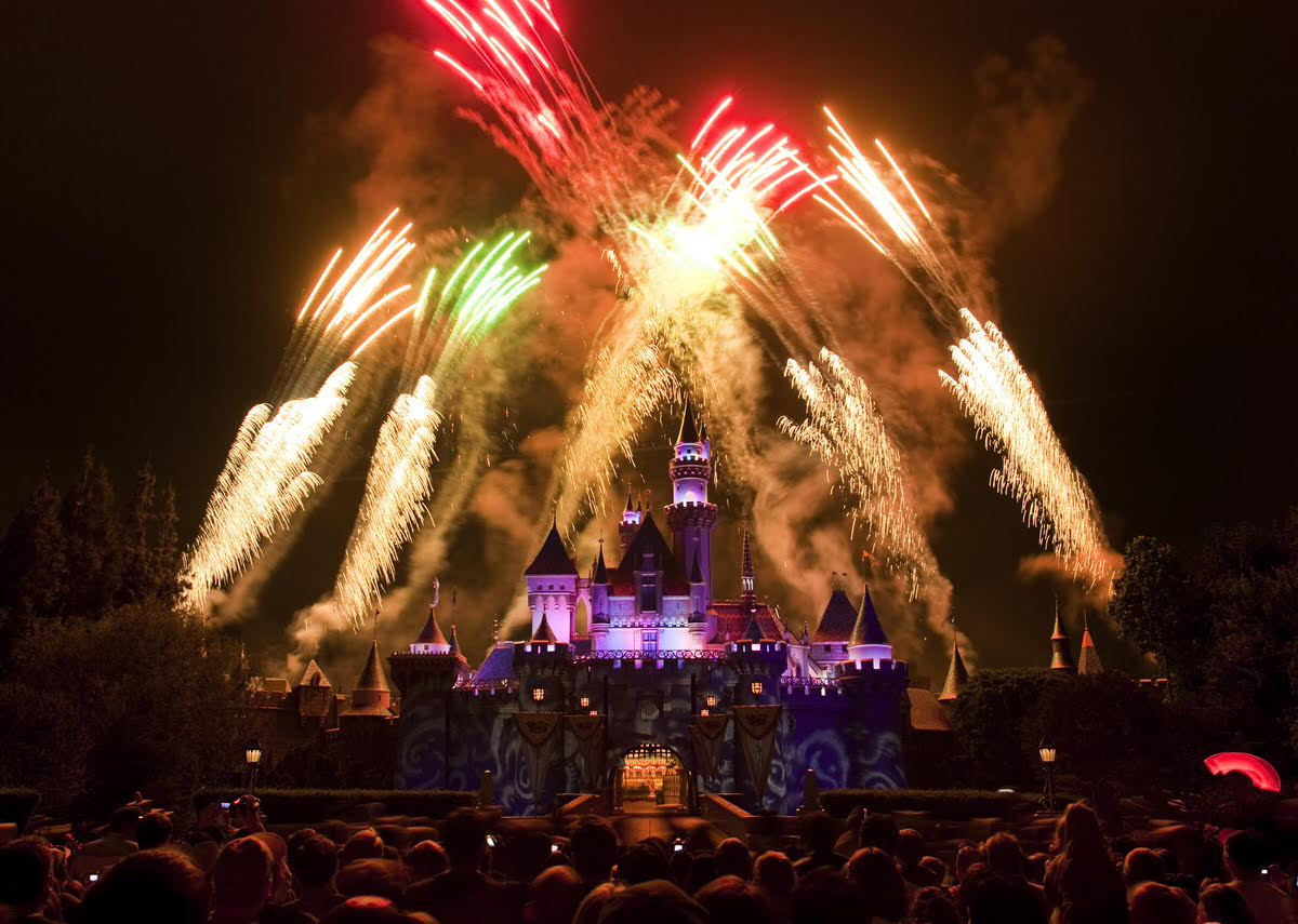 Disneyland is a wonderful destination for a New Year's Eve getaway with kids.