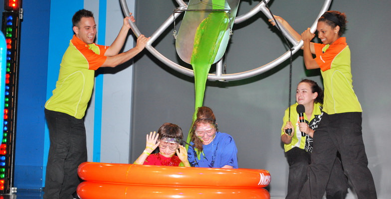 Getting Slimed at Nick Resort
