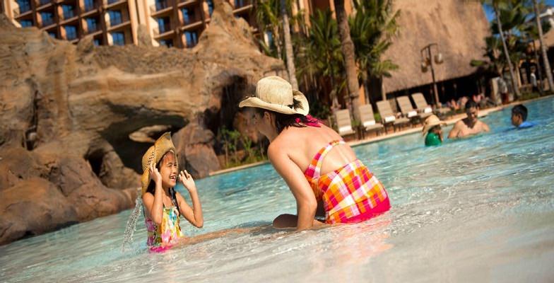 Oahu hotel pools: Disney's Aulani Resort & Spa