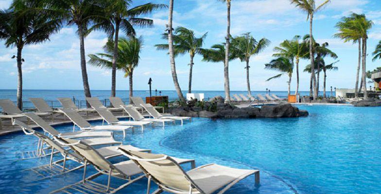 Oahu hotel pools: Sheraton Waikiki
