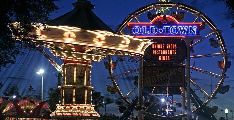 old town ferris wheel