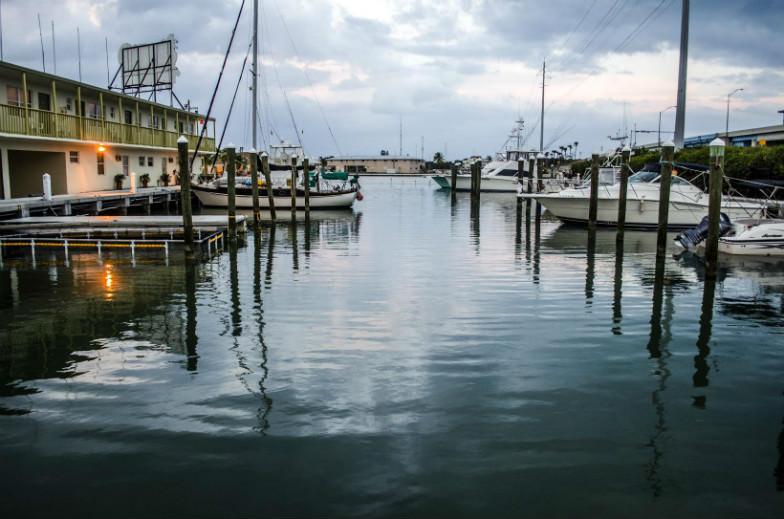 Smuggler's Cove in Islamorada, Florida