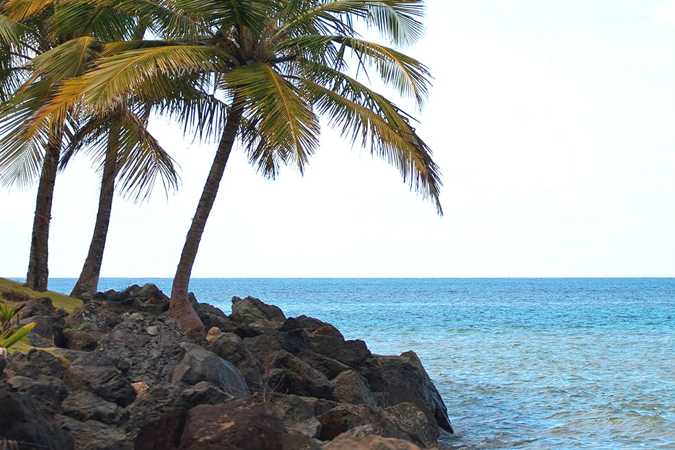 Luquillo Beach, also called Balneario La Monserrate, is one of the most popular beaches in all of Puerto Rico.