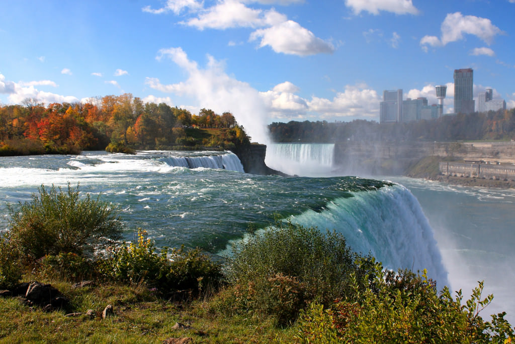 Niagara Falls is a fantastic place to visit this Labor Day Weekend.