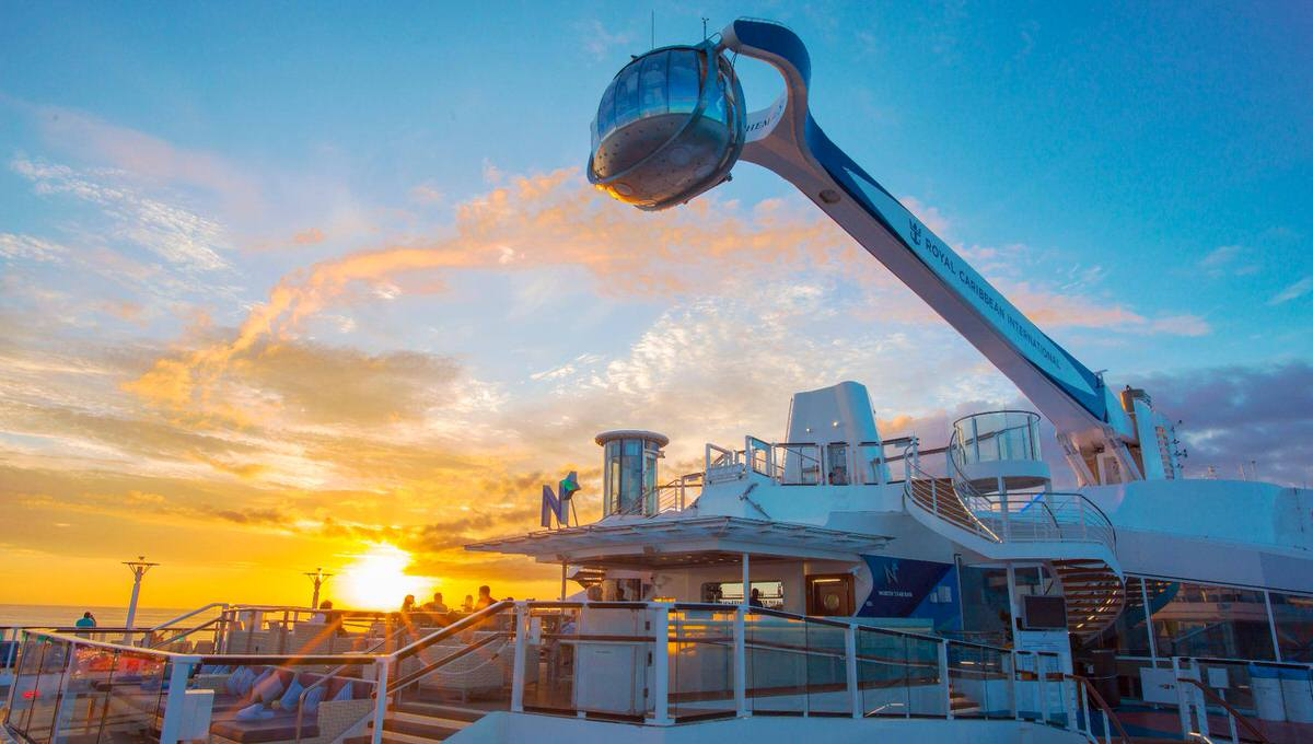 Sail away on a weekend cruise with the Royal Caribbean.