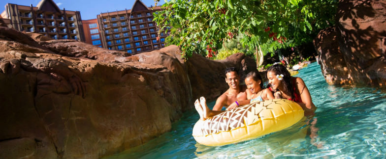 Lazy River at Aulani