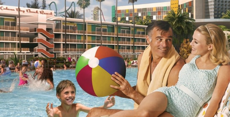 intro rate: Cabana Bay Beach Resort