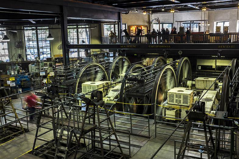 Cable Car Museum in San Francisco, California
