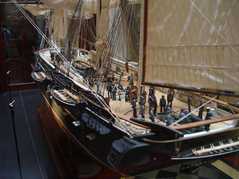 Ships of the Sea Maritime Museum in Savannah, Georgia