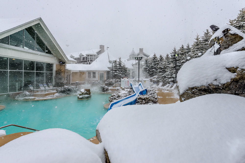 Jacuzzi at Snowshoe Mountain Resort
