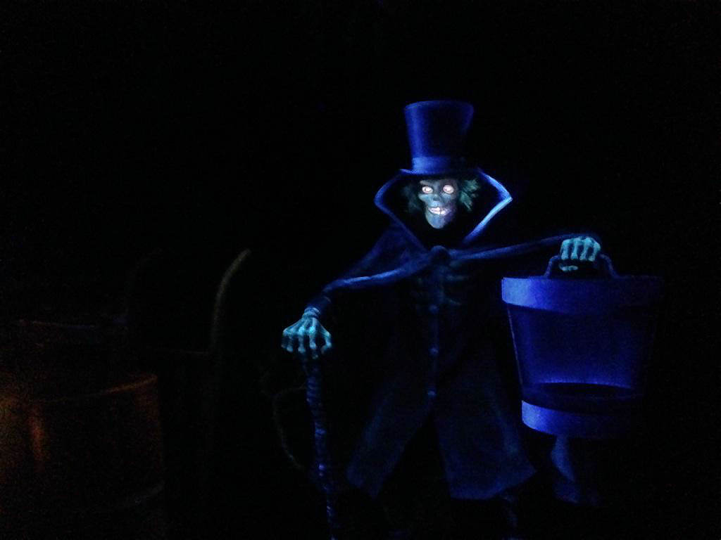 A new ghost appears in Haunted Mansion.