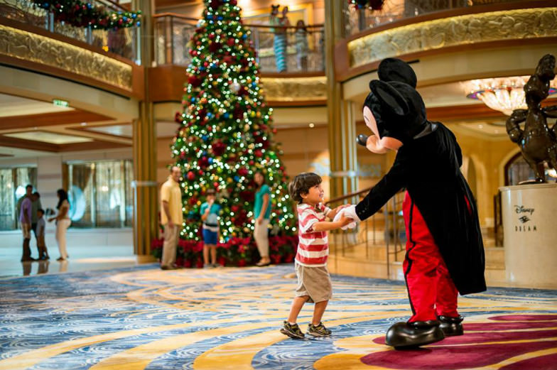Christmas aboard the Disney Cruise Line