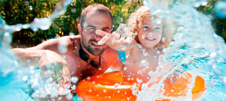 Water fun at the Moon Palace Golf, Spa and Resort