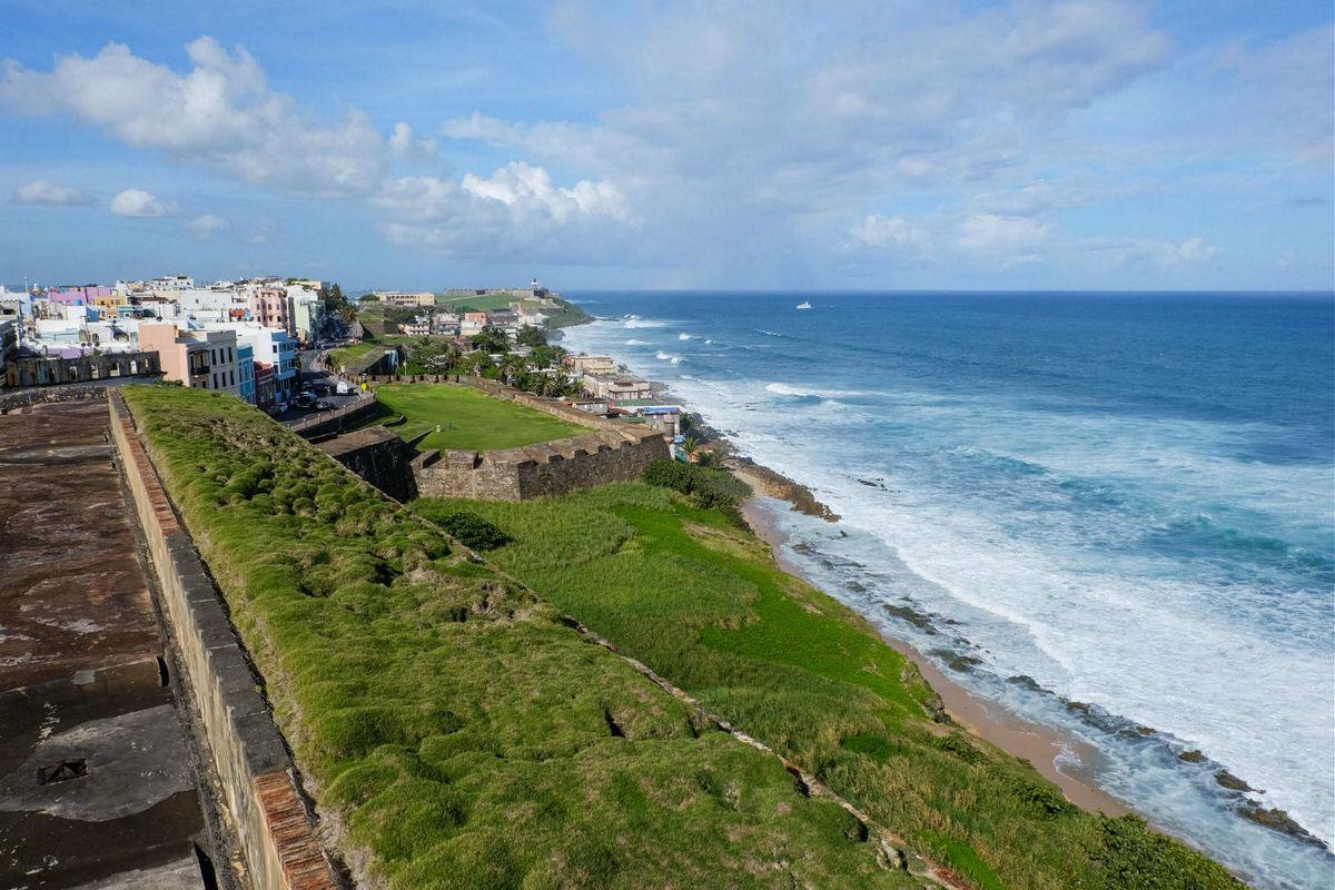 San Juan, Puerto Rico, coast