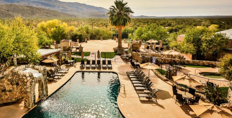 spring break: Tanque Verde Ranch