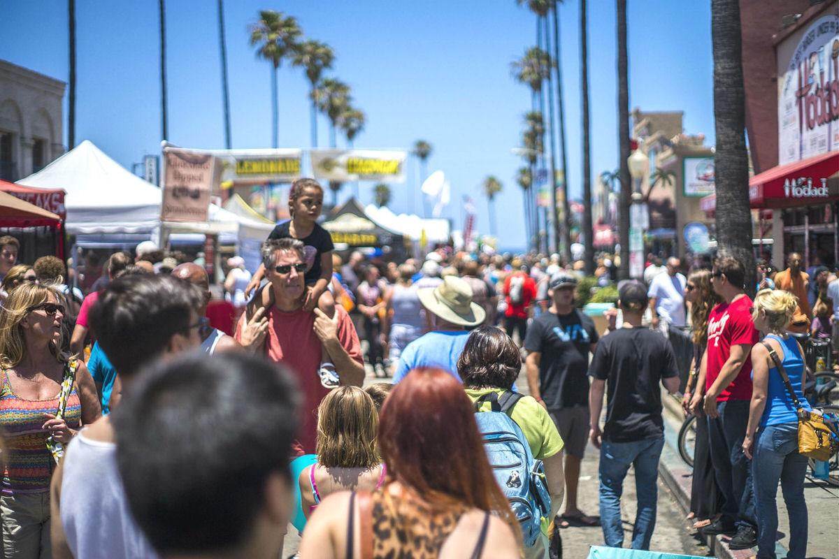 Ocean Beach Street Fair & Chili Cook-Off Festival in San Diego, CA