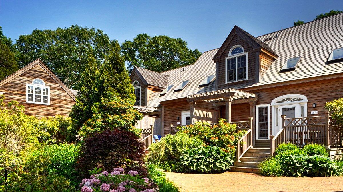 East Hampton Point cottages