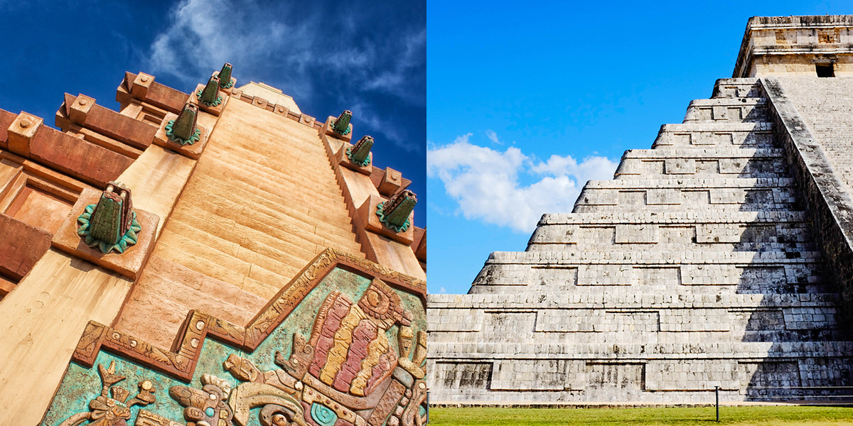 Instead of the Mexico area at Epcot, visit the real place instead.