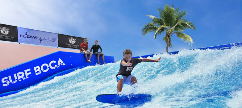 FLOWRIDER at the Boca Raton Resort & Club.