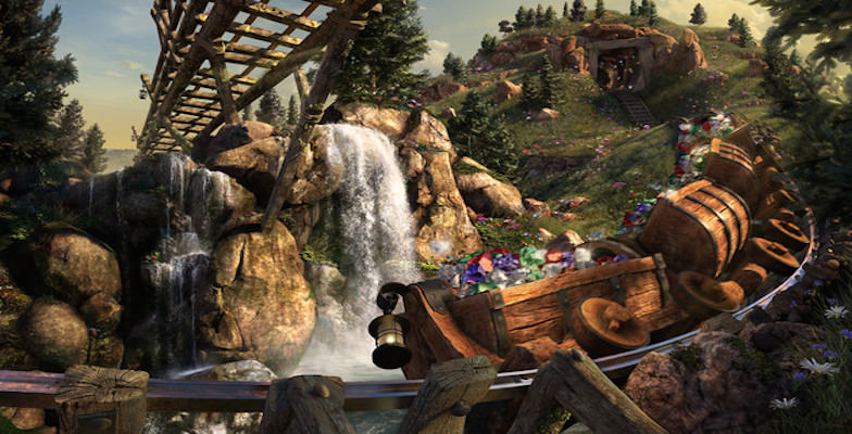 Theme Parks: Seven Dwarfs Mine Train