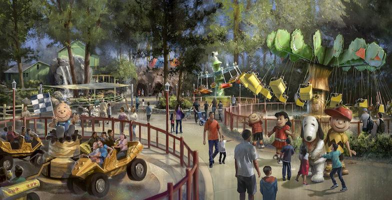 Theme Parks: Camp Snoopy