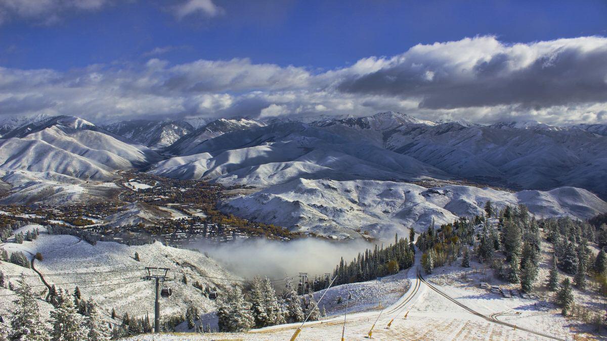 Winter at Sun Valley Resort