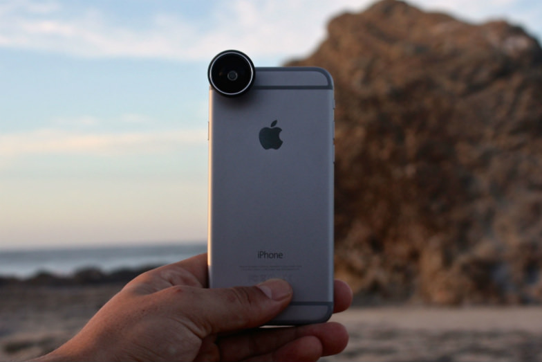 Take beautiful family travel photos with your mobile phone using instaLens.