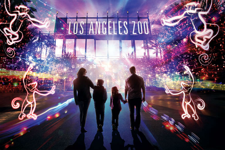 Zoo Lights at the LA Zoo