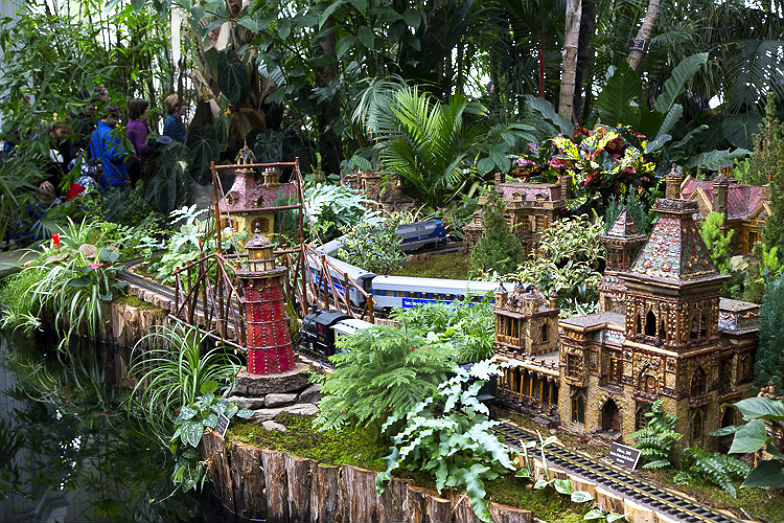 The NY Botanical Garden's Annual Train Show