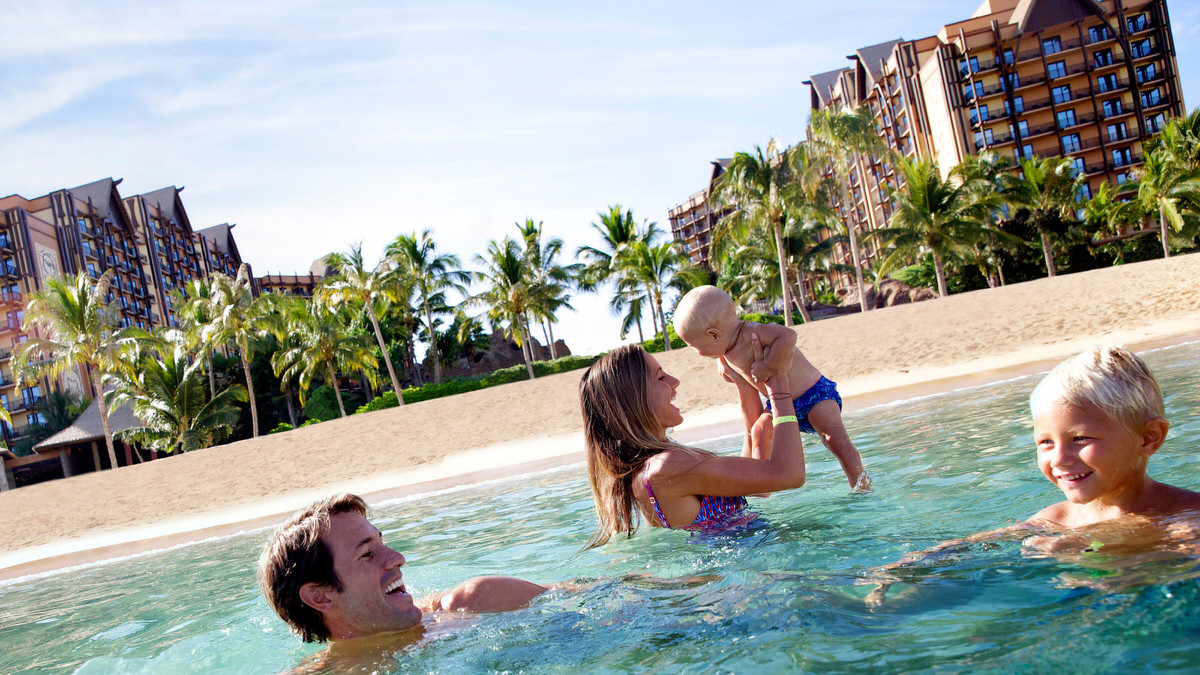 Beachfront Aulani is the ultimate resort for families visiting Oahu.