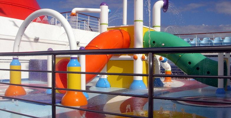 Carnival Splendor Water Works