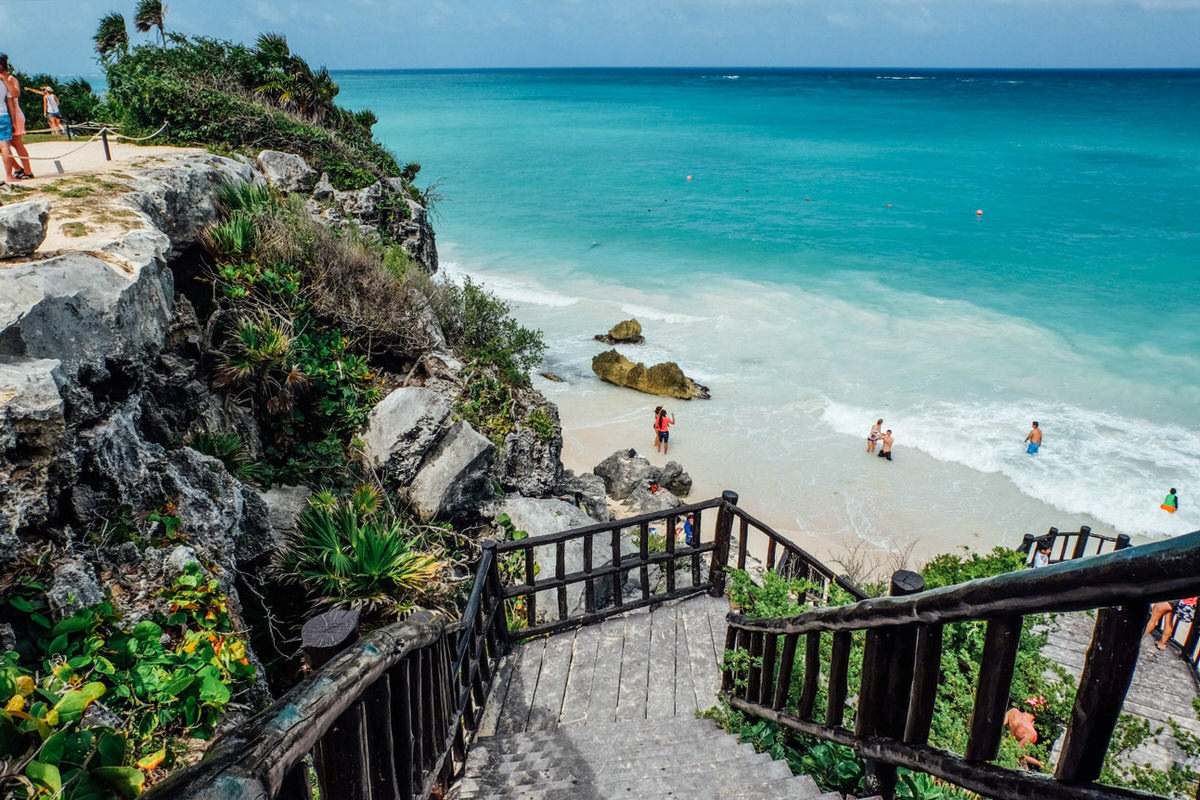 When vacationing in the Riviera Maya, leave the resort and visit the attractions, including Tulum.