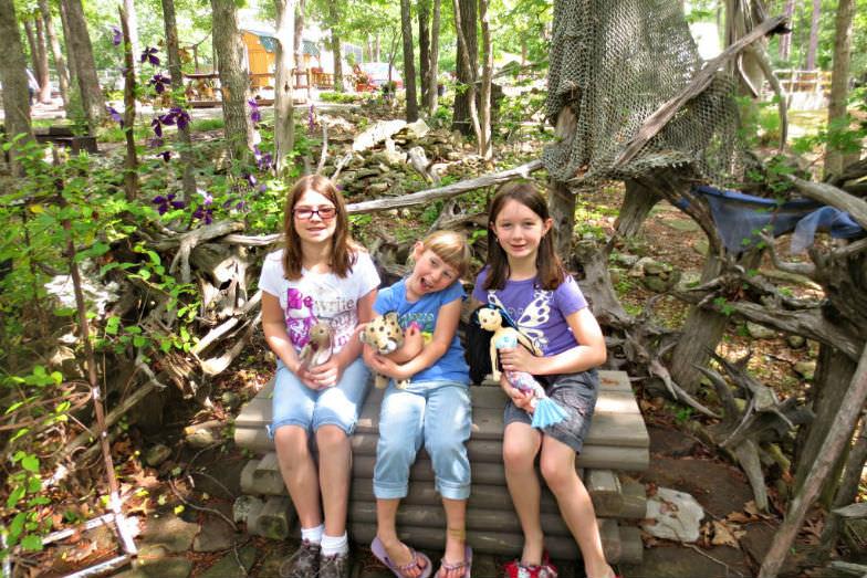 Fairy Garden camping at KOA in Eureka Springs, AR