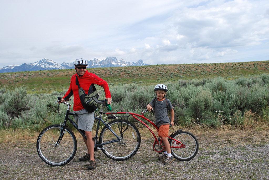 Biking in the Tetons