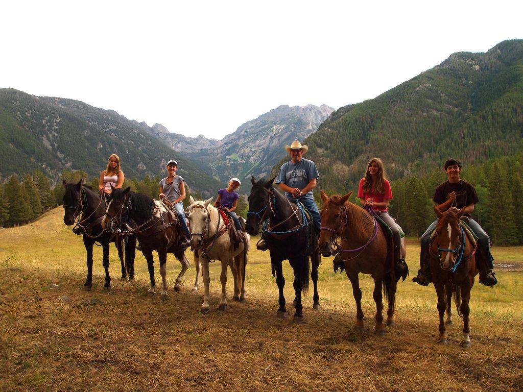 Horseback riding in Jackson Hole