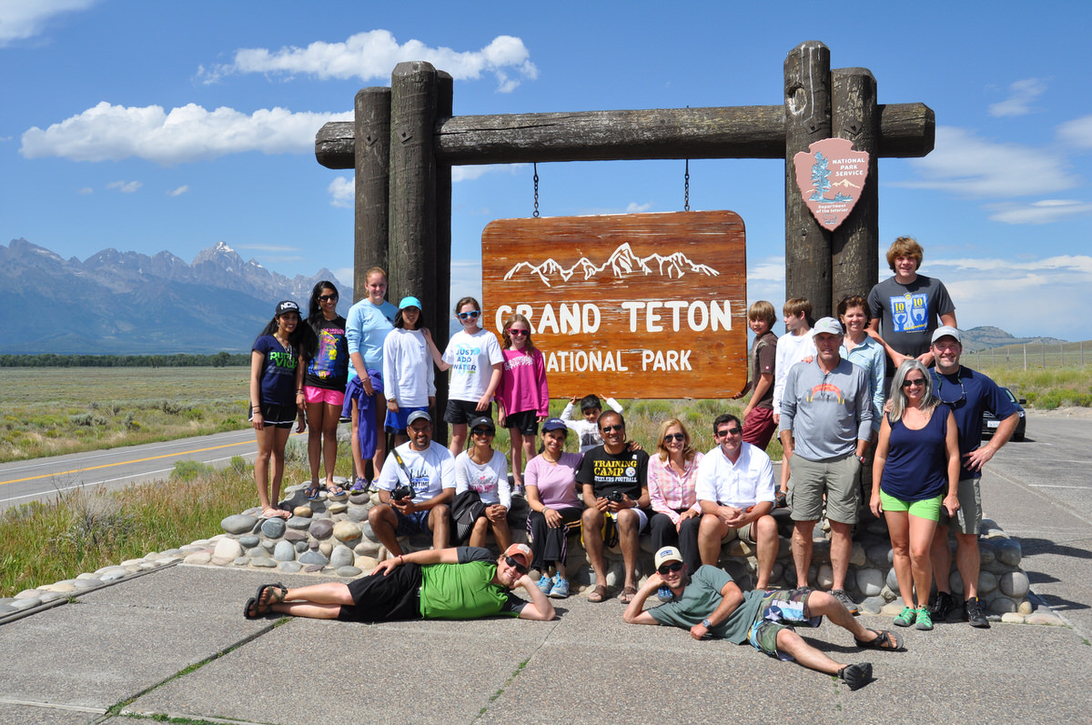 Families in Grand Teton National Park