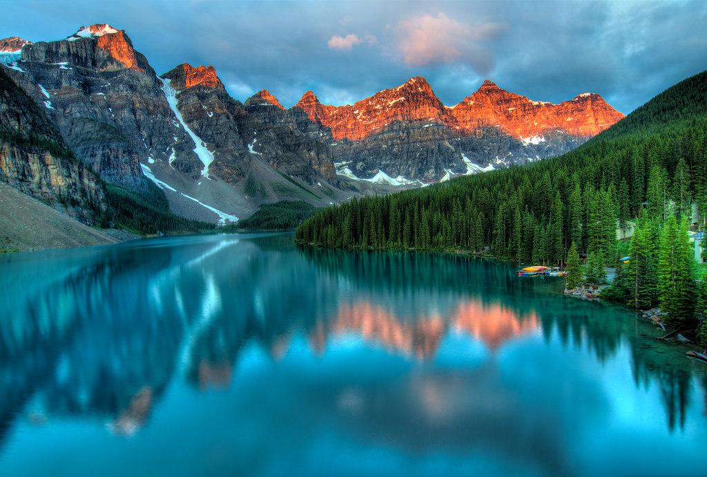Moraine Lake Sunrise, Banff National Park