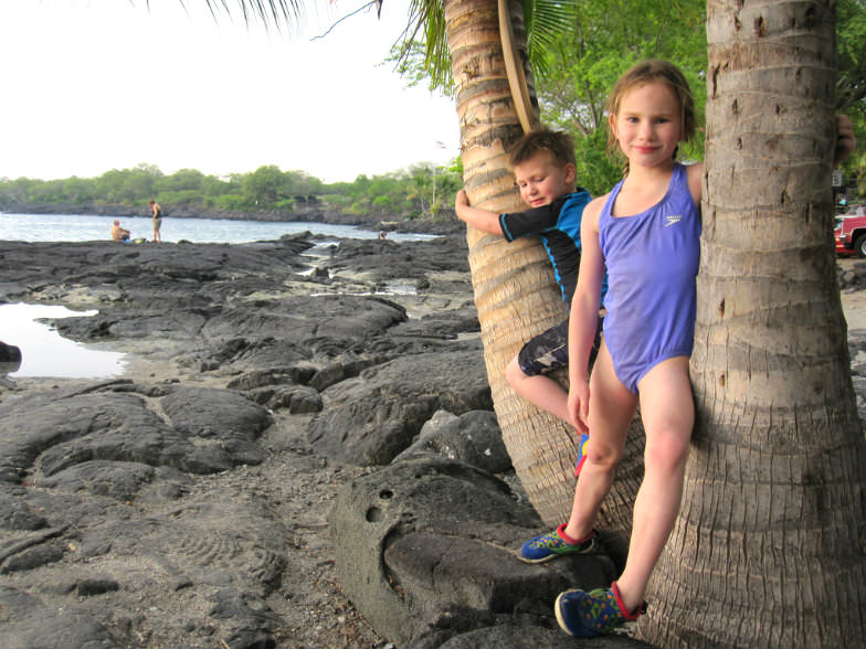 Kids in Hawaii