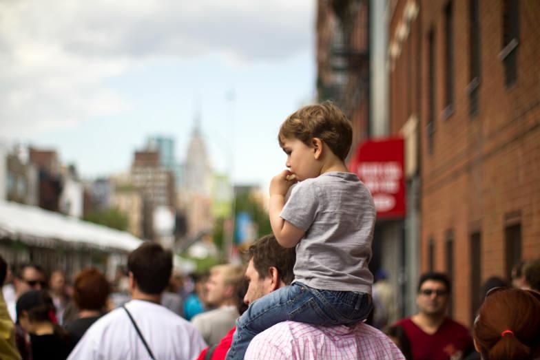 Child in Manhattan