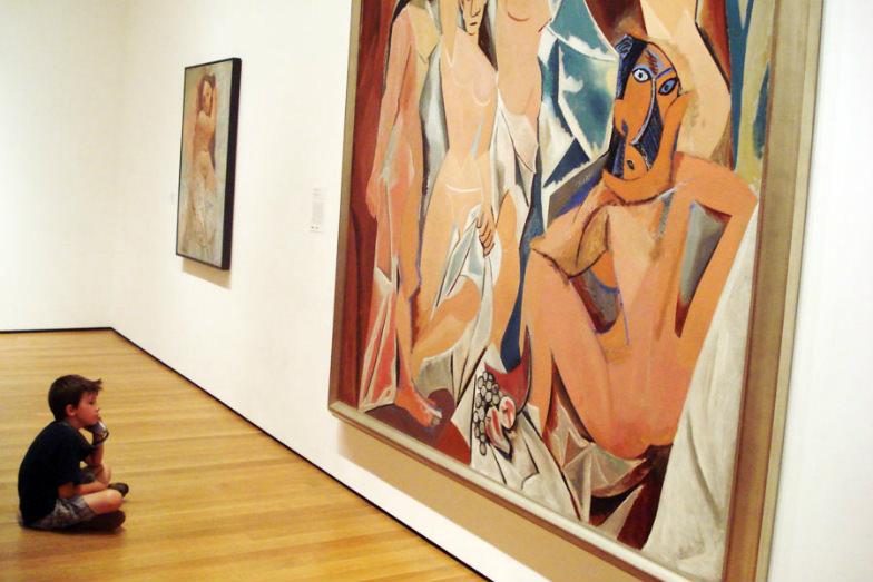 Kid at MoMA