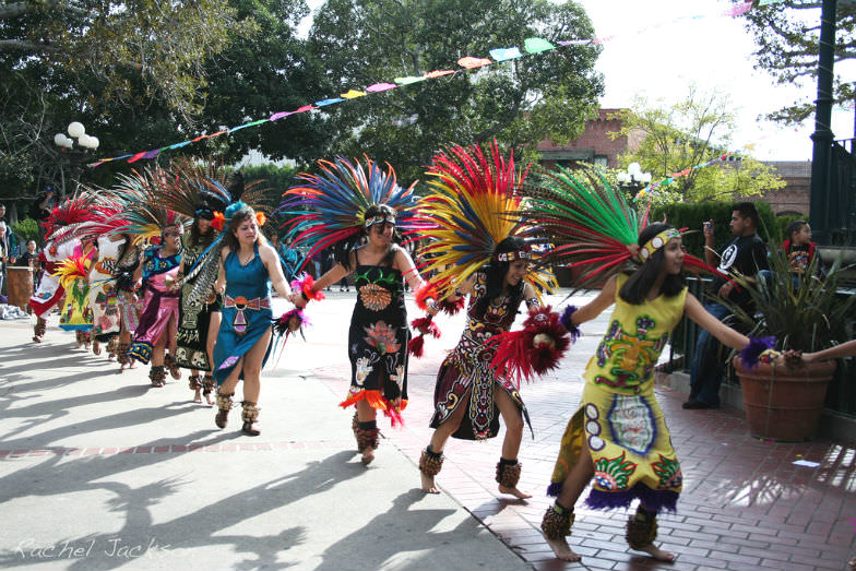 Dancers at Olvera Street