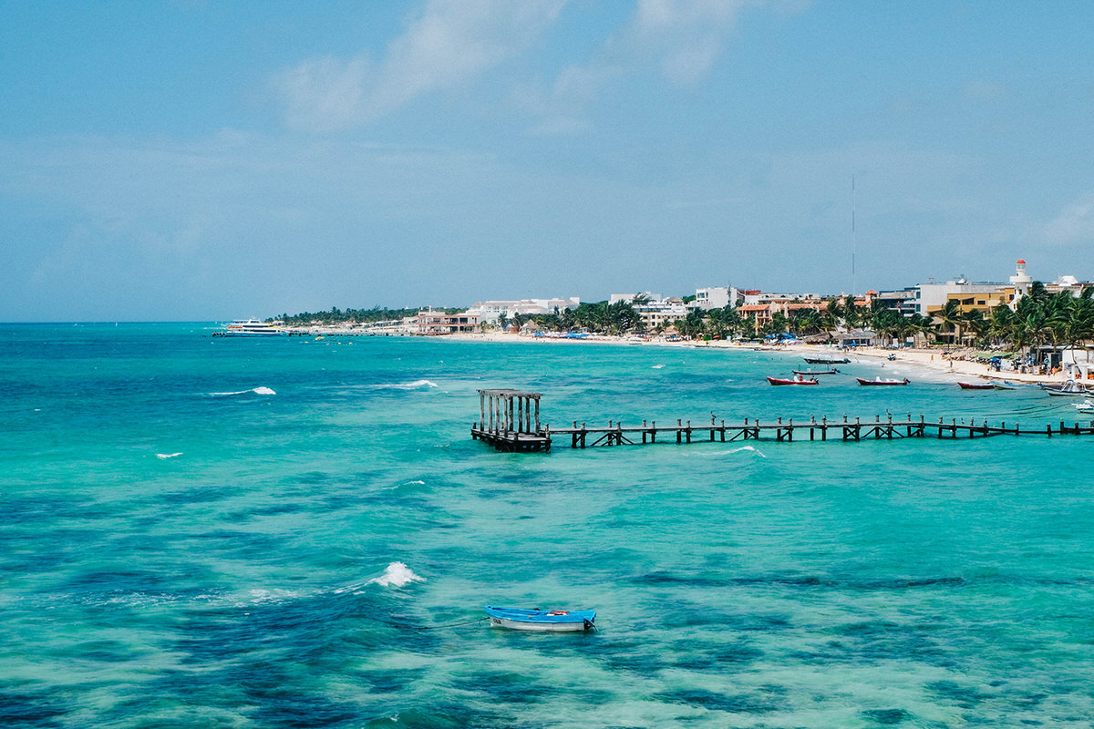 Playa del Carmen is a charming destination for a mom and dad only getaway.