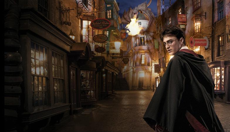 Universal Studios' Harry Potter Diagon Alley