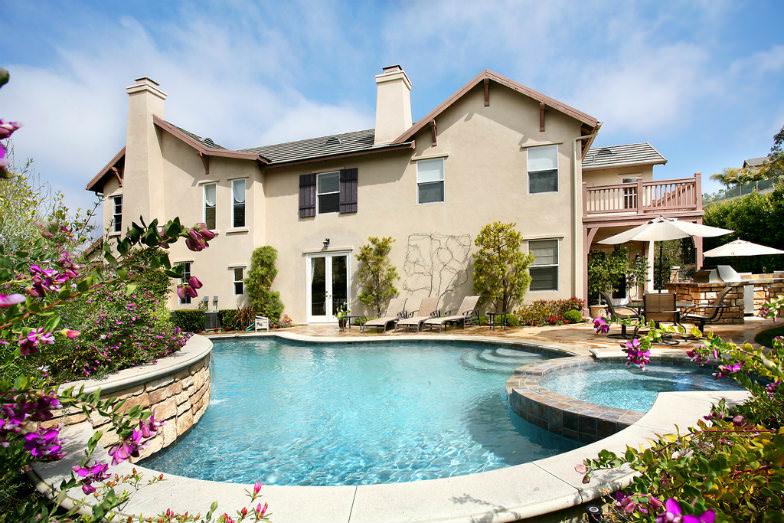 A villa in Newport Beach, California